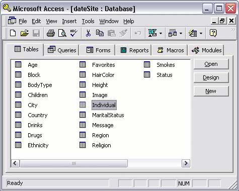 dbms access versus excel
